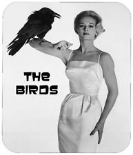 THE BIRDS MOUSE PAD - 1/4 IN. RETRO HORROR MOVIE MOUSEPAD