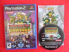 TEENAGE MUTANT NINJA TURTLES MUTANT MELEE - PlayStation 2 PS2~Complete~PAL~