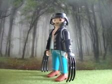 PLAYMOBIL WOLVERINE LOGAN LOBEZNO X-MEN MARVEL SUPER HEROES MUTANT ADAMANTIUM