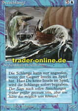 2x serpente (Sea Serpent) Magic limited black bordered German Beta FBB foreig