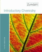 Introductory Chemistry by Steven S. Zumdahl (2004, Hardcover)