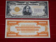Nice Crisp Unc.1934 $10,000 Gold Certificate Copy Please Read Description!