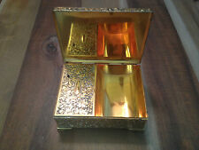 Vintage Schmid Bros Music Box Cigarette Box Humidor Plays Lara's Theme