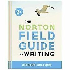 The Norton Field Guide to Writing (Third Edition), Bullock, Richard, Good Book