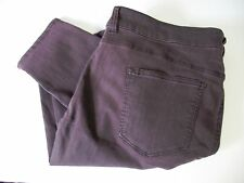 Celebrity Pink Plus Infinite Stretch Overdyed Jeans Burnt Red Sz 22 - NWT
