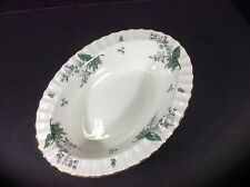 "BEAUTIFUL ANTIQUE ROYAL WORCESTER ENGLAND 10"" OVAL SERVING BOWL-VALENCIA"