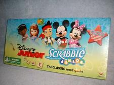 Disney Junior Edition Scrabble 2-Sided Board Game Mickey Cardinal New Sealed