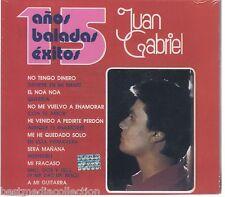 Juan Gabriel CD 15 Anos BALADAS Exitos Caja Rosa BRAND NEW SEALED !