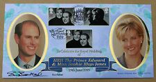ROYAL WEDDING 1999 BENHAM FDC WINDSOR H/S SIGNED BY TENNIS PLAYER SUE BARKER