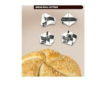 Set of 4 Professional Bread Roll Cutters Markers - used by professional bakers