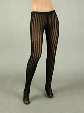 1/6 Phicen, Hot Stuff, Kumik, Play Toy - Female Black Lined Pantyhose / Tights