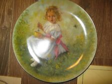 Little Miss Muffet Plate,Certificate of Authenticity Collection