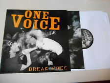LP Punk One Voice - Breakfree (12 Song) CRUCIAL RESPONSE SXE