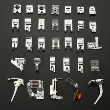 32pcs Useful Presser Foot Feet For Brother Singer Domestic Sewing Machine Part
