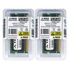 4GB KIT 2 x 2GB Toshiba Portege R705-SP3002 R705-SP3002L PC3-8500 Ram Memory