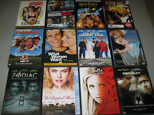 90+ Used Movie DVD Assorted Box Bulk Lot Wholesale In Cases