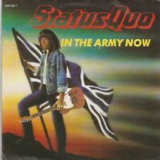 Status quo-in the Army Now/Heartburn (vinile-Single 1986)!!!