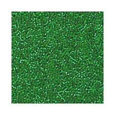 Miyuki Seed Beads 15/0 Silver Lined Light Green 15-16 Glass 8.2g Round Rocaille