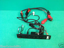 Battery Wiring Harness w/  Cover for Pride Jazzy 1122  Power Wheelchair  #4924
