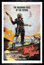 MAD MAX * CineMasterpieces VINTAGE ORIGINAL MOVIE POSTER 1979 BIKER COP POLICE