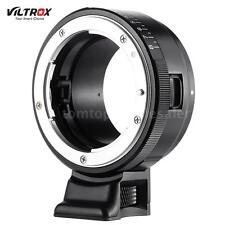 Lens Adapter Ring 8Stop Exact Aperture for Nikon G/F/AI/S/D to SONY E Mount F8V4