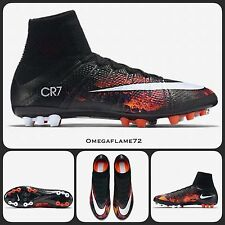 Sz 11 Nike CR7 Mercurial Superfly AG-R Football Boots 718778-018 Ankle Sock