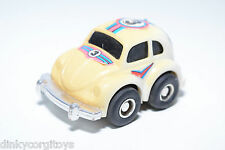 PLASTIC NOMURA TOY TN VW VOLKSWAGEN BEETLE KAFER WHITE EXCELLENT CONDITION