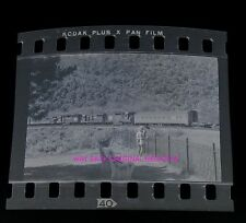 1960's Black & White Negative - Photographing Trains At Horseshoe Curve in PA