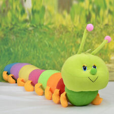 Colorful Inchworm Soft Caterpillar Lovely Developmental Child Baby Toy Doll HU