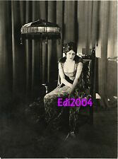 BARBARA LA MARR Vintage Original DOUBLE-WEIGHT Photo by MILTON BROWN mid-1920's