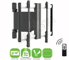 "LCD LED TV WALL MOUNT MOTORIZED 32-60"" Vesa 600 x 400 Swivel Pivot Remote"