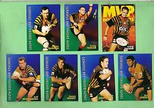 1997  SOUTH QUEENSLAND CRUSHERS  RUGBY LEAGUE CARDS