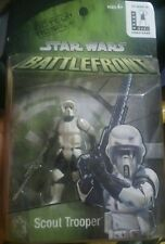 STAR WARS BATTLEFRONT VIDEO GAME SCOUT TROOPER Store Display MOSC