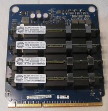 Apple 820-2178-B Mac Pro A1186 Memory Riser Card w/ 4x 2GB RAM Modules