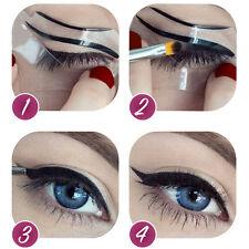 Bestliner 3Stück Cat/Dip/Angelina Cat  Eyeliner Schablone Augen Make Up Stencil