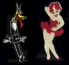 Tex Avery Patch Set Big Bad Wolf and Red Hot Classic Cartoon Pinup