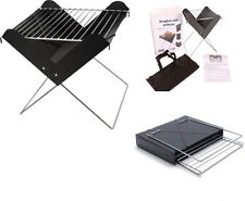 BBQ Mini Folding Grill Collapsible barbecue Foldable Camping Picnic Coal
