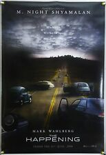 THE HAPPENING DS ROLLED ORIG 1SH MOVIE POSTER M. KNIGHT SHYAMALAN (2008)