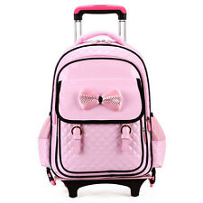 Kids Girls Backpack Schoolbag Travel Children Bag Students Rucksack Trolley Bag