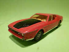 CORGI TOYS WHIZZWHEELS FORD MUSTANG MACH I  - RED - IN GOOD CONDITION