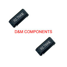 0.032768MHz SMD Crystal Resonator, 32.768KHz, MC-306, Pack of 2