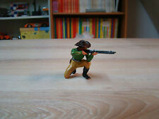 ELASTOLIN - OUGEN -  COW BOY A GENOUX AU FUSIL - FAR WEST -