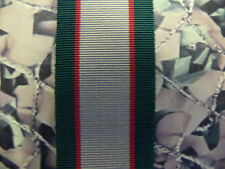 Full Size Medal Ribbon - 1936 - 1939 UK India General Service Medal