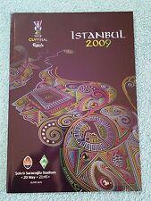 2009 - UEFA CUP FINAL PROGRAMME - SHAKHTAR DONESTK v WERDER BREMEN