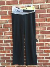 Lululemon Astro Pants Black Citron Tinted Canvas Blurred Gray * 8 M *