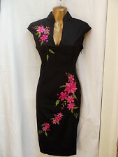 Oriental Black Pink Fashion Chinese dress 18 20