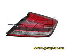 TYC NSF Certified Right Side Tail Light Assembly for Honda Civic Coupe 2014-2015