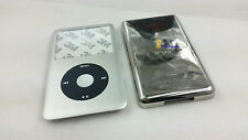 silver faceplate housing case cover black clickwheel for ipod 7th classic 160gb