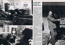 Coupure de presse Clipping 1978 Gregory Pack  (2 pages)