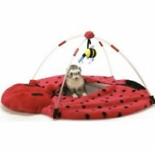 NWT Marshall Bed Lady Bug Play Center Toy Ferret